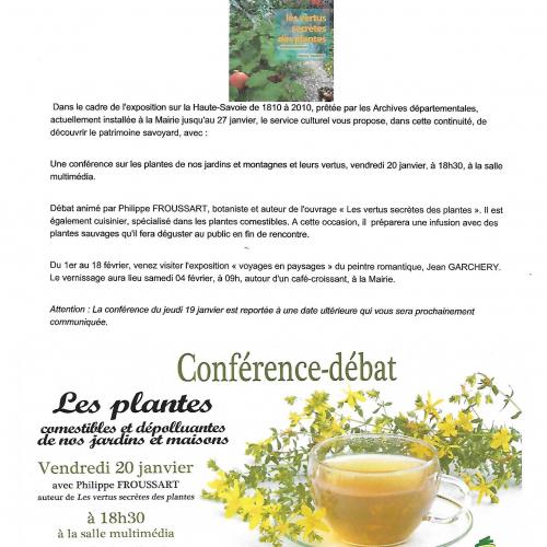 Conférence sur le patrimoine montagnard